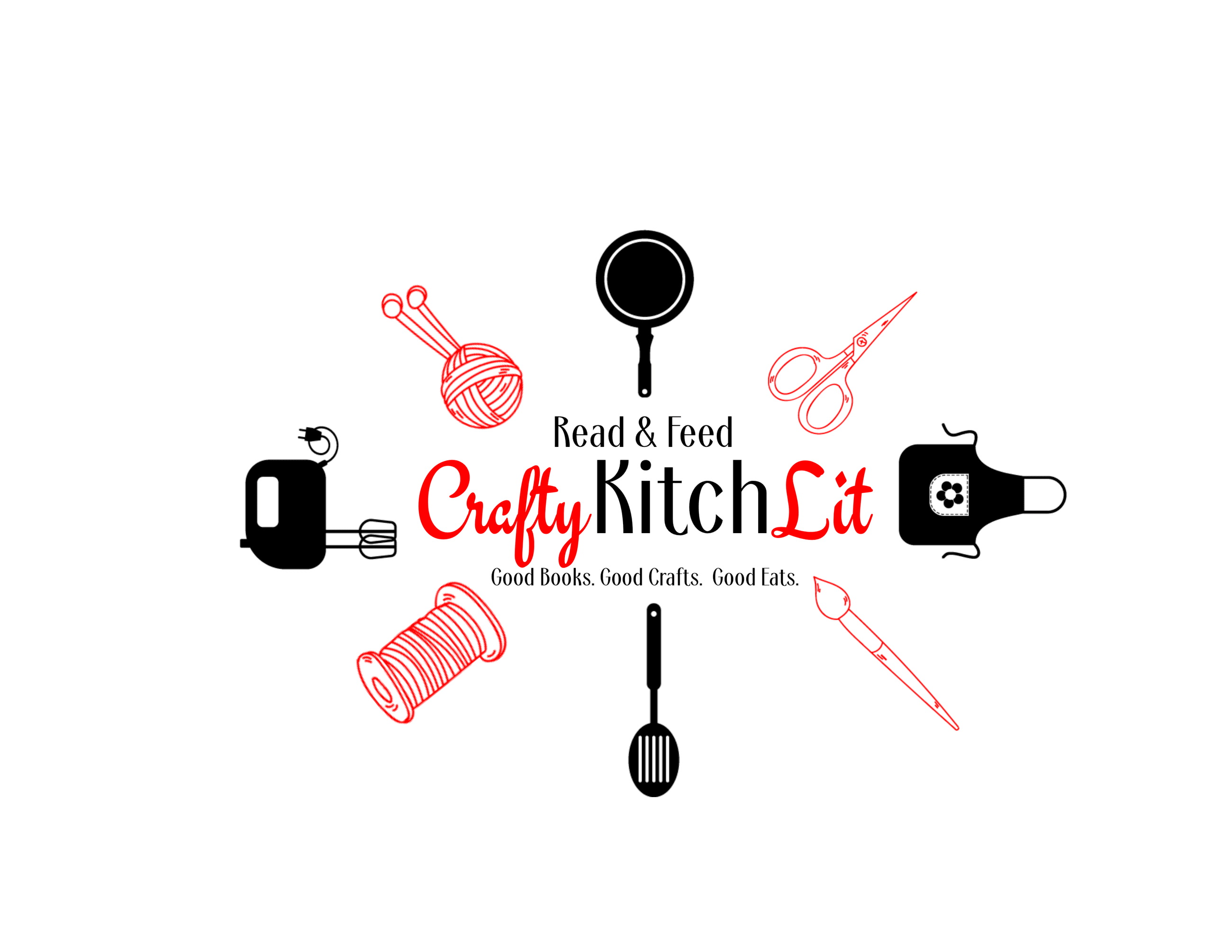 Crafty Kitch Lit Logo
