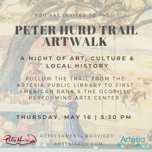 Peter Hurd Artwalk