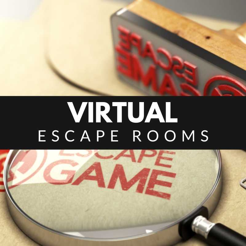 Virtual Escape Rooms - Escape Room stamp