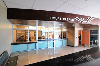 Court Clerk Window